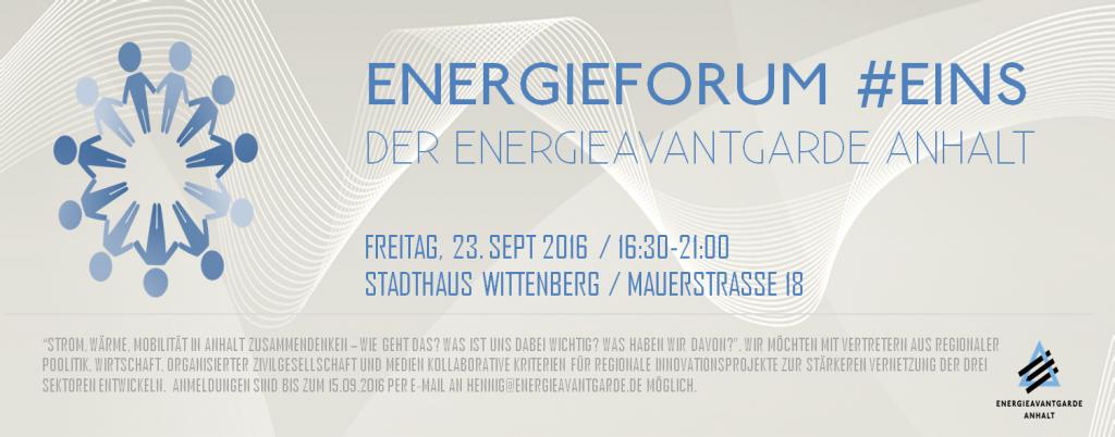 Energieforum Nr. EINS